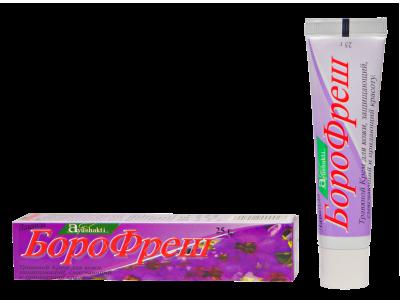 Антисептический крем Боро Фреш Лаванда
